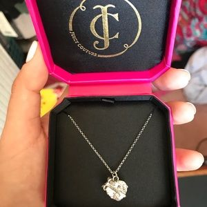Juicy Couture Diamond Heart Necklace